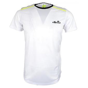 Ellesse Stuarteo Valkoinen Polyesteri T-paita