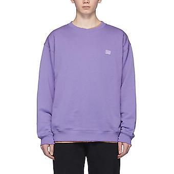 Acne Studios Ci0010adh Women's Lilac Cotton Sweatshirt