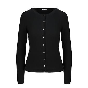 P.a.r.o.s.h. D520660013 Women's Black Wool Cardigan
