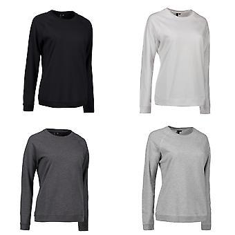 ID Womens/damer runt halsen Casual tröja