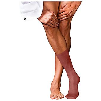 Falke No9 Pure Fil D'Ecosse Socks - Rust Red