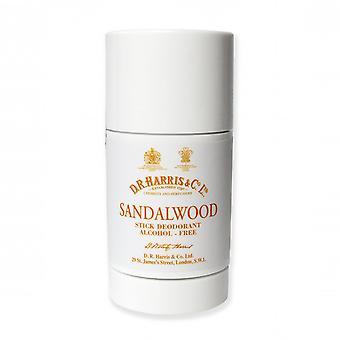 D R Harris Sandalwood Stick Deodorant 75g