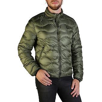 Blauer Original Men Fall/Winter Jacket - Green Color 35725