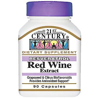 21St century resveratrol red wine extract, capsules, 90 ea