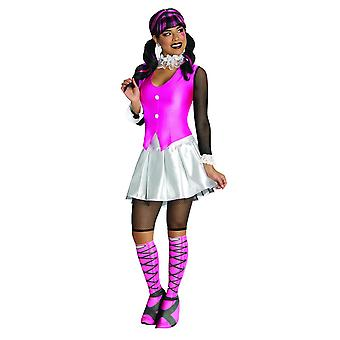 Monster High Womens/Ladies Deluxe Draculaura Costume