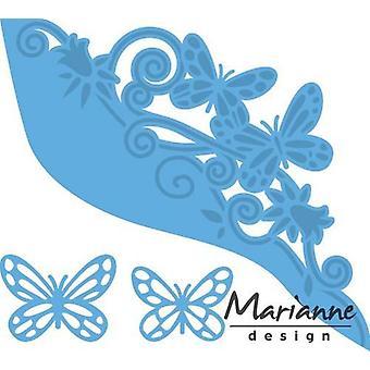 Marianne Design Creatables Cutting Dies - Butterfly Border LR0456