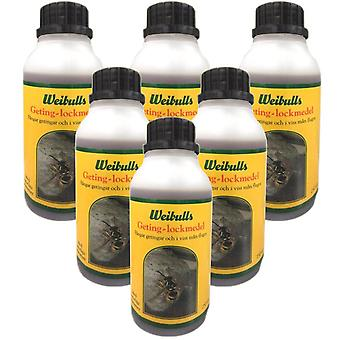 Weibull Wasp Decoy 250ml For Wasps & Flies 6 Bottles