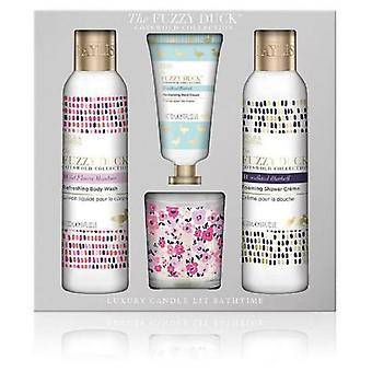 Baylis & Harding The Fuzzy Duck Cotswold Flower Candle Set