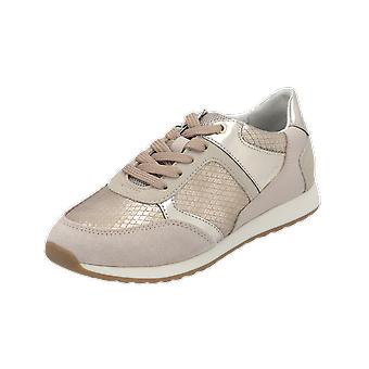Geox D DEYNNA B Women's Sneaker Beige Gym Shoes Sport Running Shoes