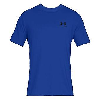 アンダーアーマースポーツスタイル左チェスト1326799486ユニバーサルオールイヤーメンズTシャツ