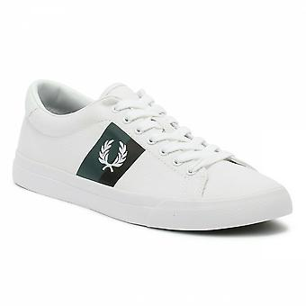 Fred Perry Men'S Underspin Plastisol Twill Trainers Shoes - B4142-100