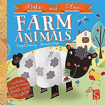 Make and Play Farm Animals by Margot Channing - 9781912233977 Book