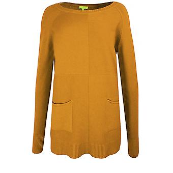 Yellow Label Mustard Knit Jumper