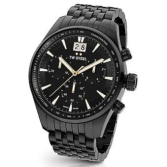 TW Steel ACE314 ancient Aternus Swiss Made chronograph mens watch 45 mm