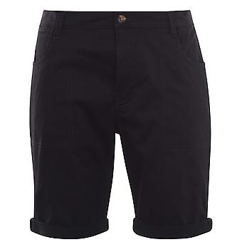 SoulCal Mens Chino Shorts Bottoms Bottoms Button Fastening Zip Up Fly 4 Pockets