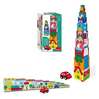 Stacking Blocks City Goula (10 pcs)