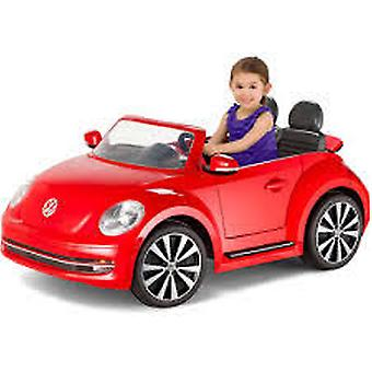 Kid Trax VW Beetle Convertible 12-Volt Battery-Powered Ride-On