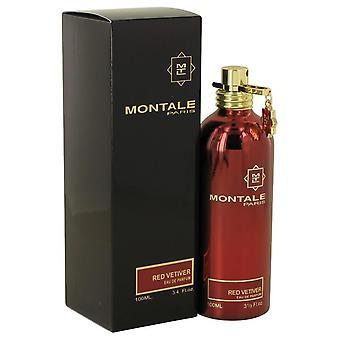 Montale rote Vetiver Eau De Parfum Spray von Montale 3.4 oz Eau De Parfum Spray