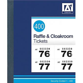 Anker Raffle And Cloakroom Tickets
