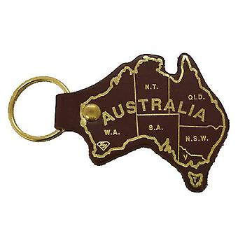 Jacaru 6406 nyckelring aust. karta tryckt