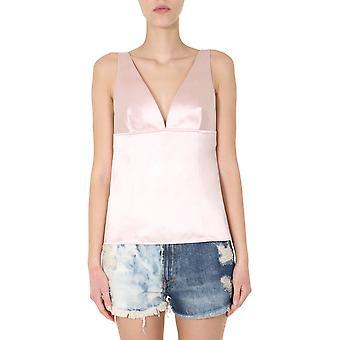 Givenchy Bw60pk114p271 Women's Pink Cotton Top
