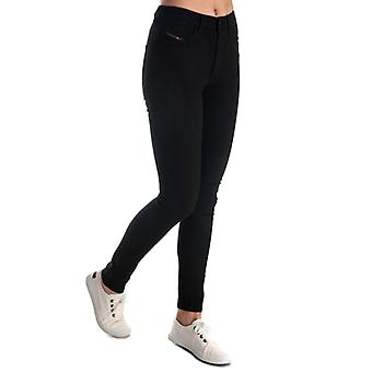 Frauen's Diesel Skinzee High Waist Skinny Jeans in schwarz