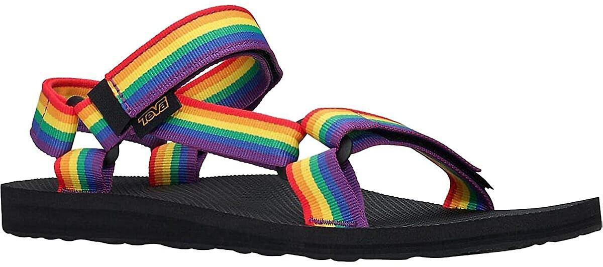Sandales teva mens originales universelles à orteils ouverts - Arc-en-ciel
