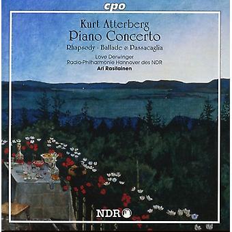 K. Atterberg - Kurt Atterburg: Piano Concerto [CD] USA import