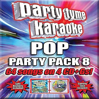 Various Artist - Party Tyme Karaoke: Pop Party Pack 8 [CD] USA import