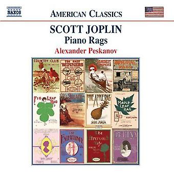 S. Joplin - Scott Joplin: Piano Rags [CD] USA import