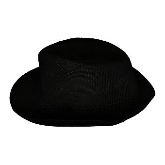 Stacy Adams Elmhurst verfraaid Fedora Basic Black Hat
