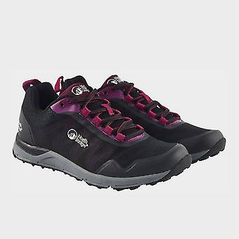 North Ridge Women's  Pacer Trainers Black/Purple