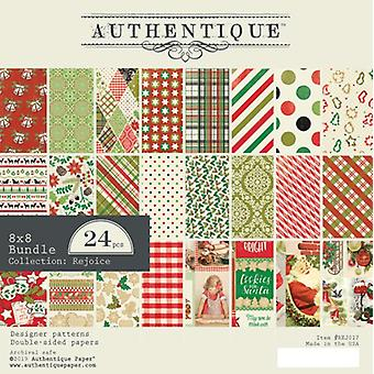 Authentique Rejoice 8x8 Inch Paper Pad