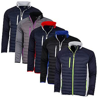 Sunderland Mens 2020 Zermatt Padded Full Zip Windproof Showerproof Golf Jacket