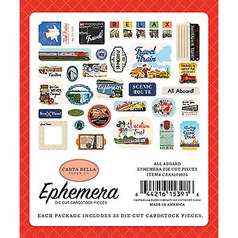 Carta Bella alle ombord Ephemera