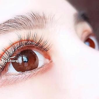 Colored Contact Lens -  Eye Color Black/chocolate Lense
