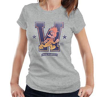 Woody Woodpecker College W Women's T-Shirt