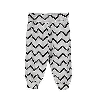 Vauvan housut leffa harmaameleerattu/Musta, 74 cl