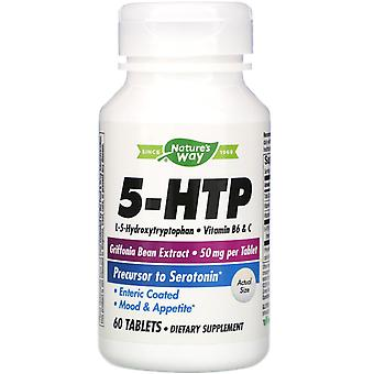 Nature-apos;s Way, 5-HTP, 60 tablettes