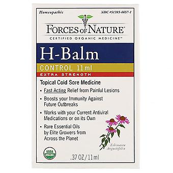 Forces of Nature, H-Balm Control, Extra Strength,  0.37 oz (11 ml)