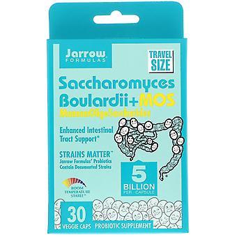 Jarrow Formulas, Saccharomyces Boulardii + MOS, 5 Billion, 30 Capsules