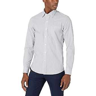 Brand - Goodthreads Men's Slim-Fit Long-Sleeve Comfort Stretch Poplin ...