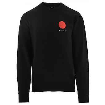 Edwin Zwarte Japanse Sun Sweatshirt