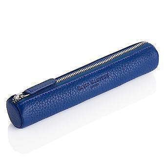 Sapphire Blue Richmond Leather Pencil Case