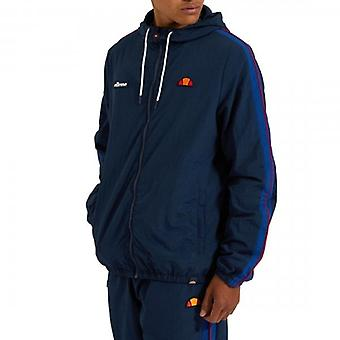 Ellesse Fairchild Zip Up Hooded Track Top Navy