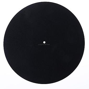 Felt Turntable Platter Mat, Lp Slip Mat Audiophile 3mm Thick For Lp Vinyl