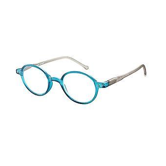 Gafas de lectura Unisex Le-0189C Lennon grosor azul/gris +3.00
