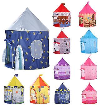 Kids Play Tent Ball - Princess Castle Portable Indoor Outdoor Baby Fun - House Hut For Children Toys