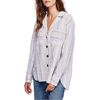Free People | High Tide Multi Streifen Top