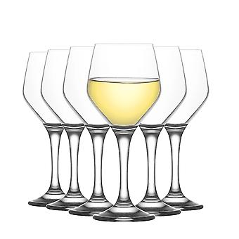 LAV Ella Pequeñas Copas de Vino - 260ml - Pack de 12 Goblets Stemware